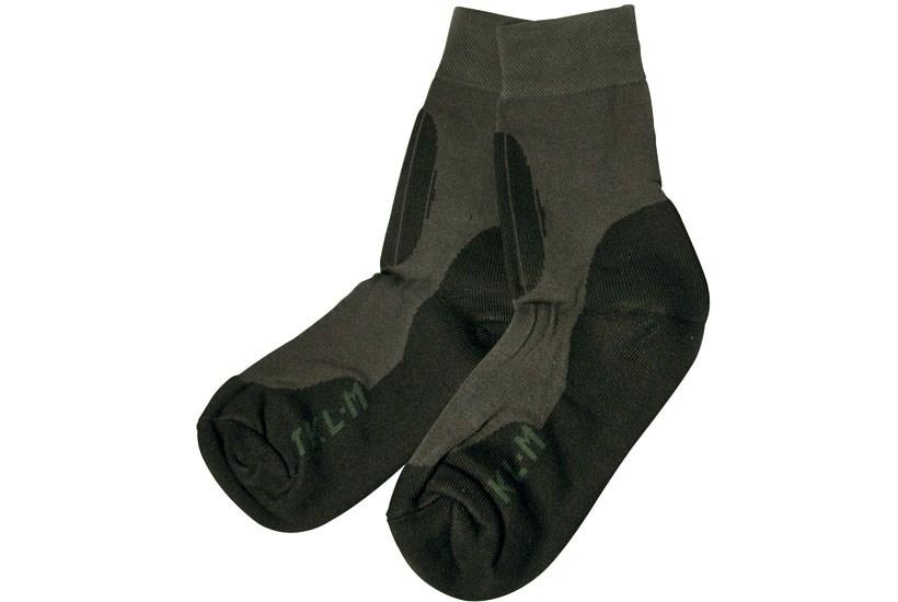 Helårssok TKL sort/grå, 4 par