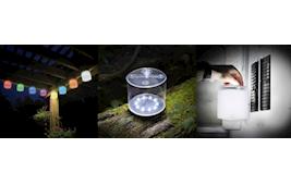 Luci Solcelle lampe 4-pakke